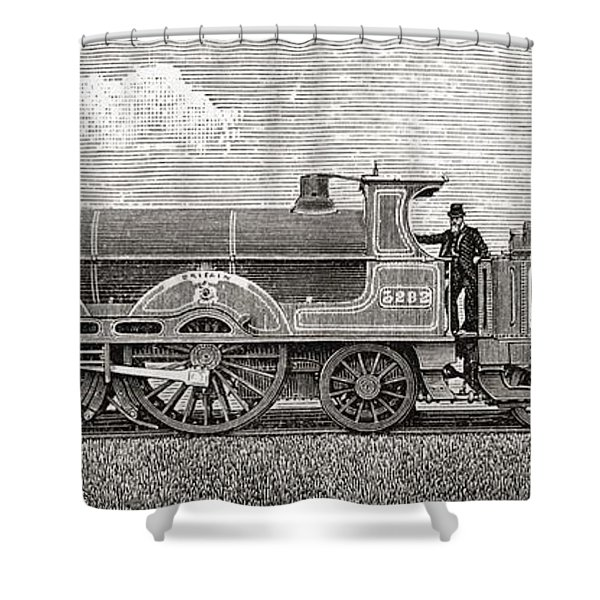 The Greater Britain Passenger Shower Curtain