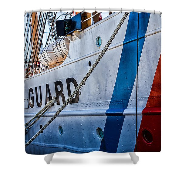 The Guard  Shower Curtain