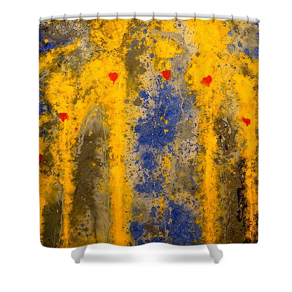 The Guardians Of Heaven Shower Curtain