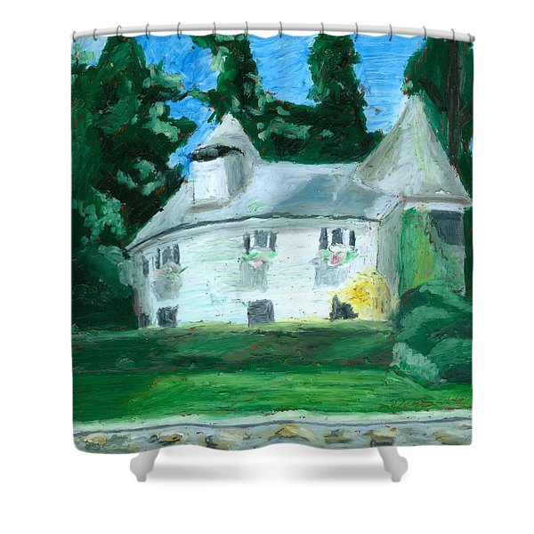 The Guest House Shower Curtain