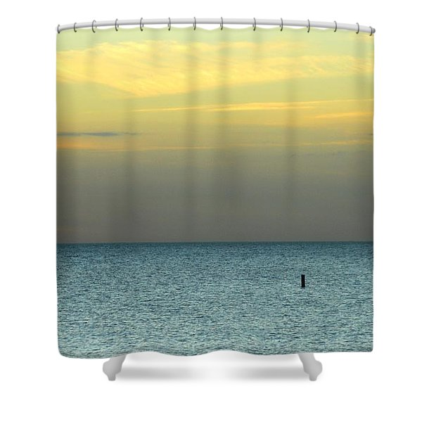 The Gulf Of Mexico Shower Curtain