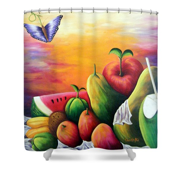 The Harvest 1 Shower Curtain