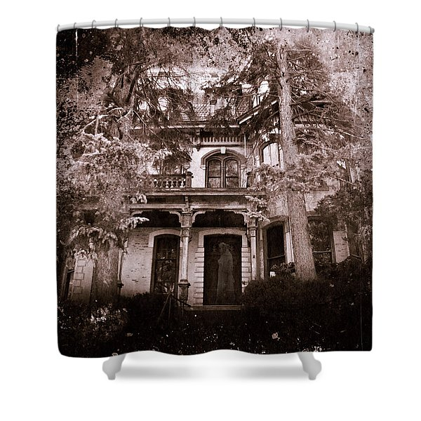 The Haunting Shower Curtain