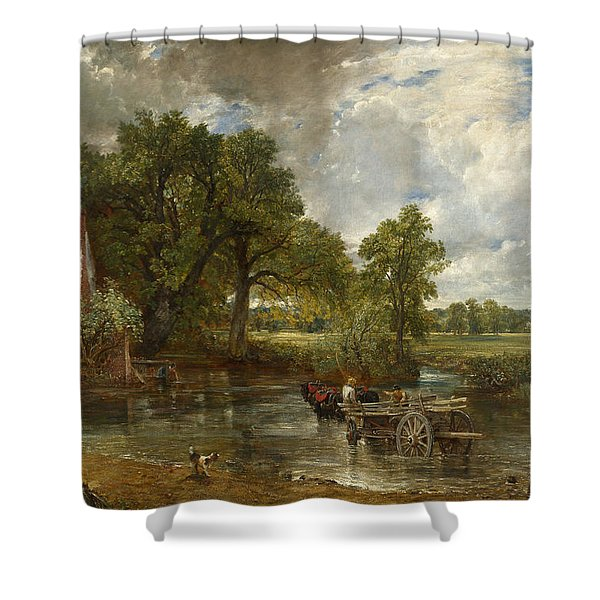 The Hay Wain Shower Curtain
