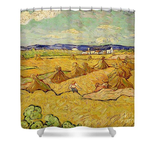 The Haystacks Shower Curtain