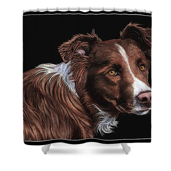 The Herder Shower Curtain