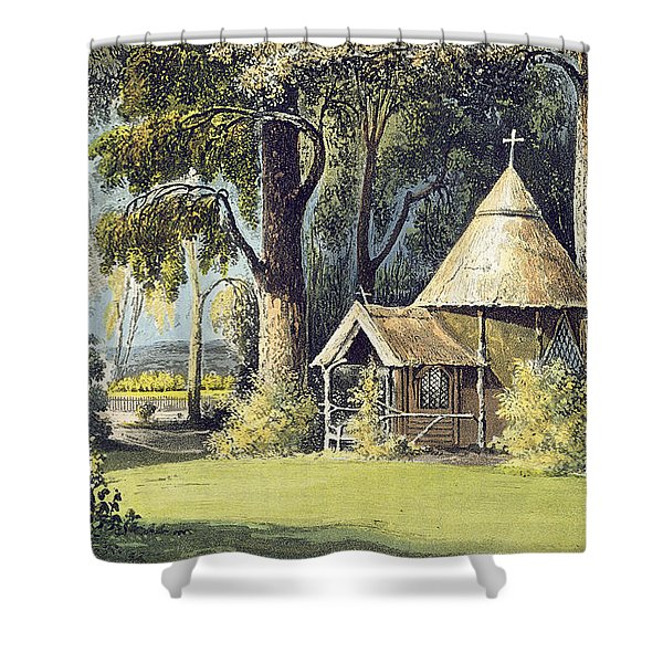 The Hermitage, From Ackermanns Shower Curtain