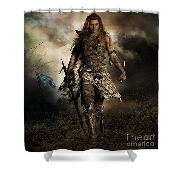 The Highlander Shower Curtain