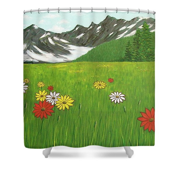 The Hills Are Alive With The Sound Of Music Shower Curtain