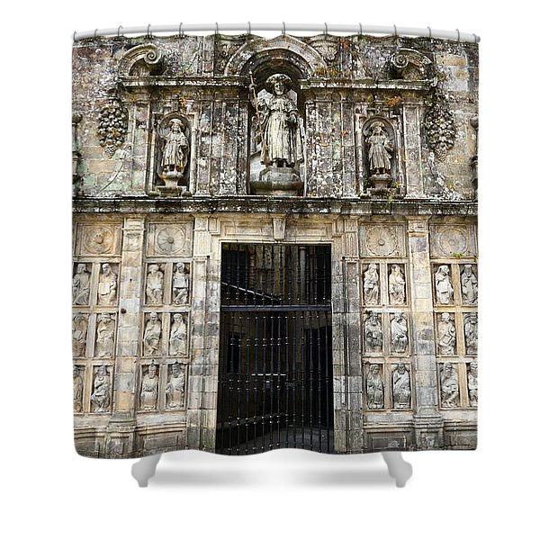 The Holy Door Shower Curtain