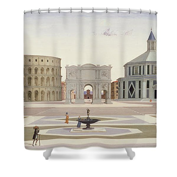The Ideal City Shower Curtain