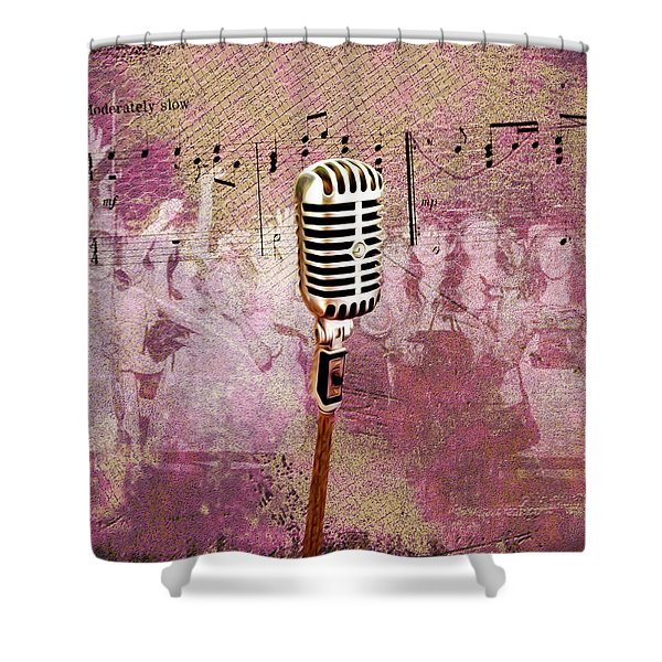 The Idol Shower Curtain