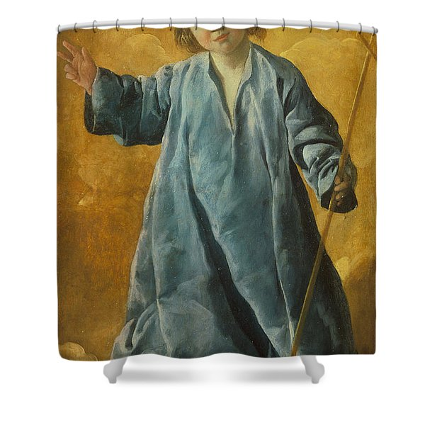The Infant Christ Shower Curtain