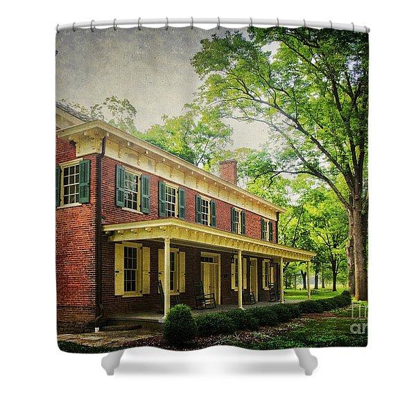 The John Stover House Shower Curtain