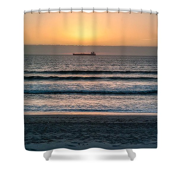 The Journey Is Over. I Am Home Shower Curtain