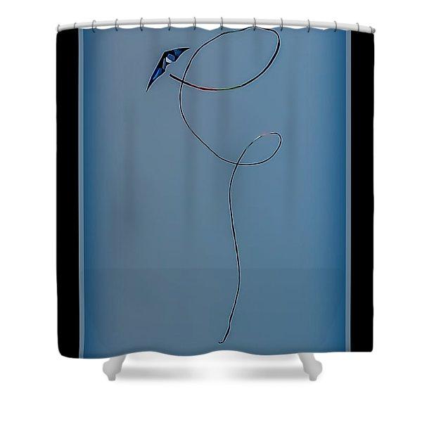 The Kite Shower Curtain