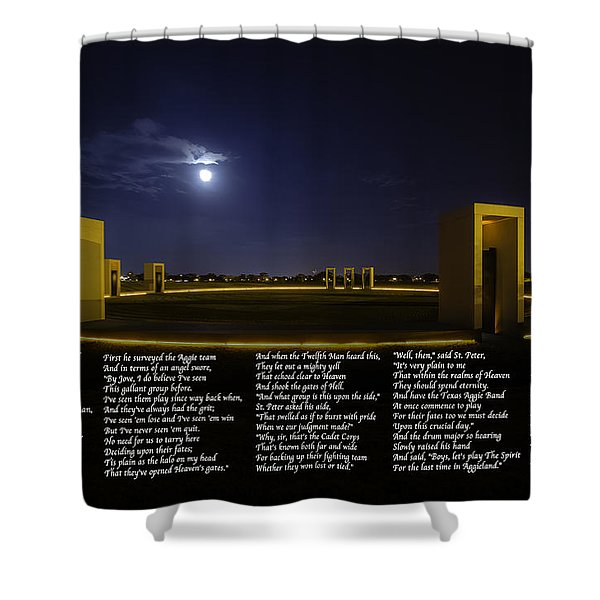 The Last Corps Trip Shower Curtain