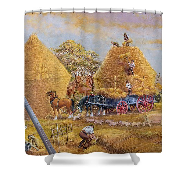 The Last Load Shower Curtain