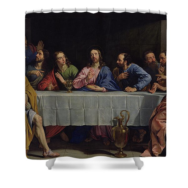 The Last Supper Shower Curtain