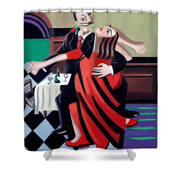 The Last Tango Shower Curtain