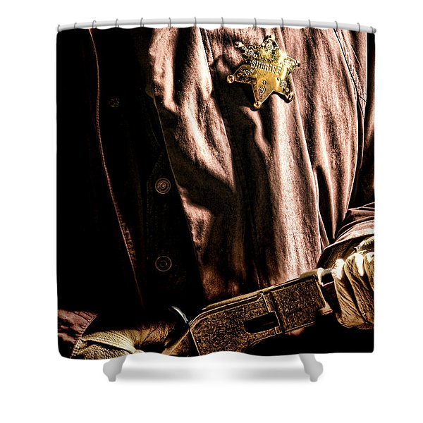 The Law Shower Curtain