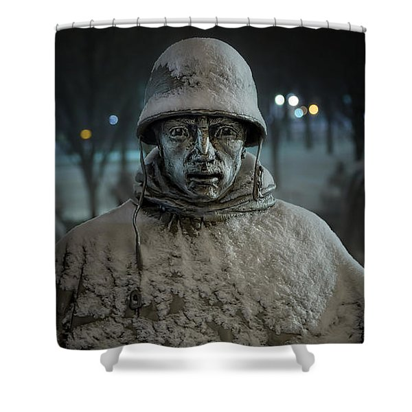 The Lead Scout Shower Curtain