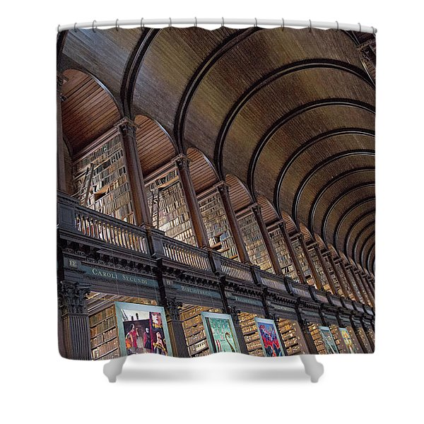 The Library Shower Curtain