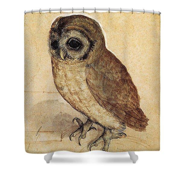 The Little Owl 1508 Shower Curtain