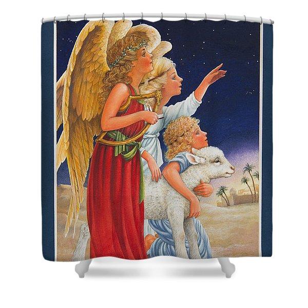 The Little Shepherd Boy Shower Curtain