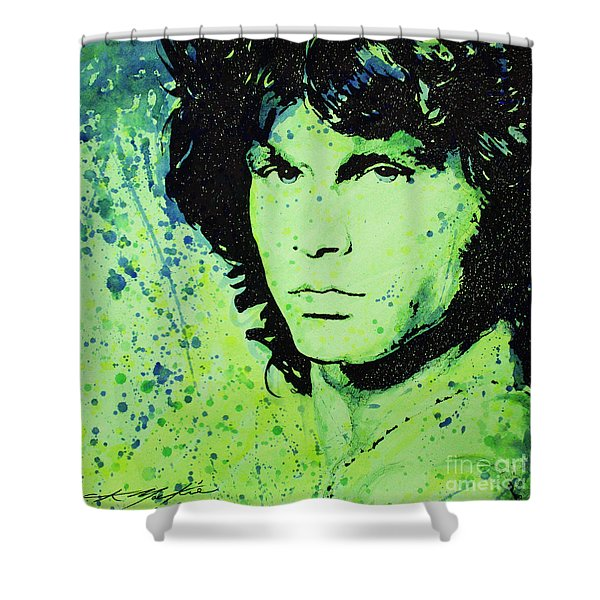 The Lizard King Shower Curtain