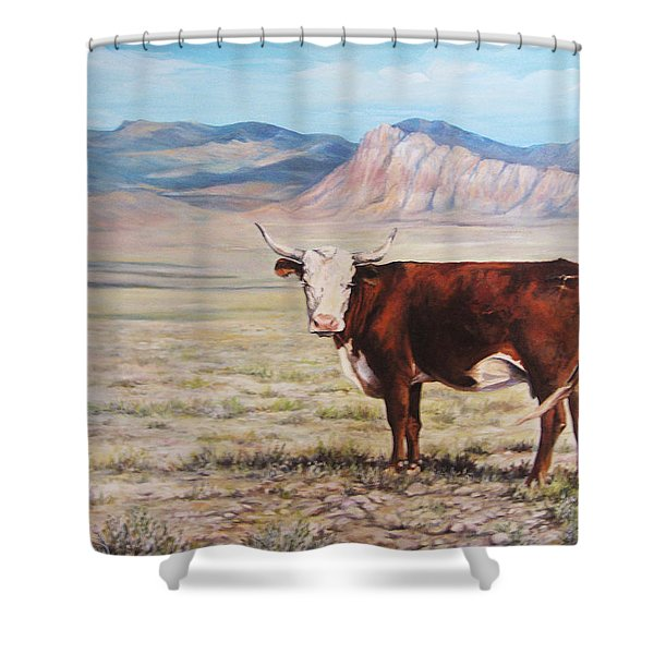 The Lone Range Shower Curtain