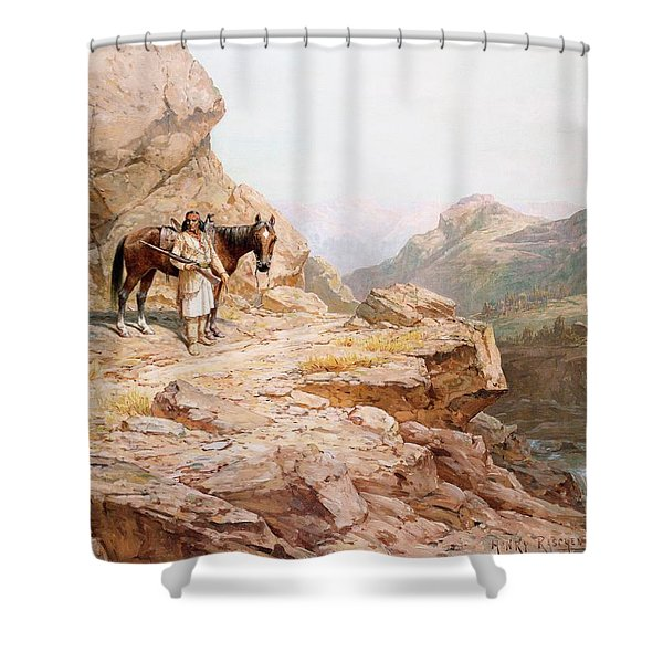 The Look Out Shower Curtain