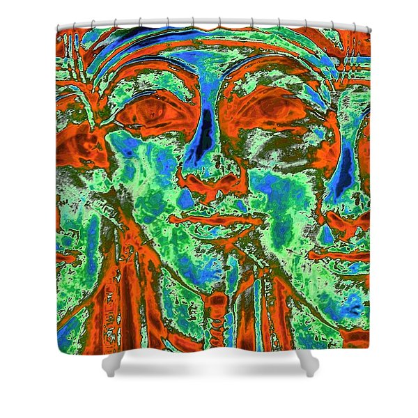 The Lost Kings Shower Curtain