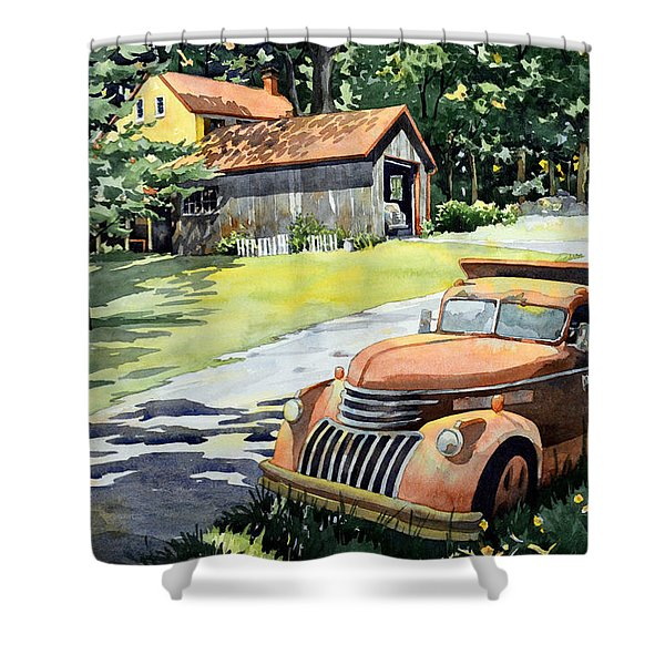 The Lost Ones Shower Curtain