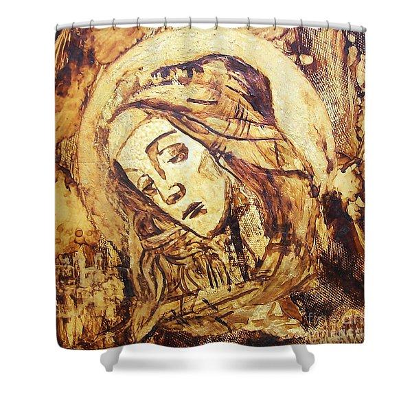 The Madonna Of Medjugorje,  Shower Curtain