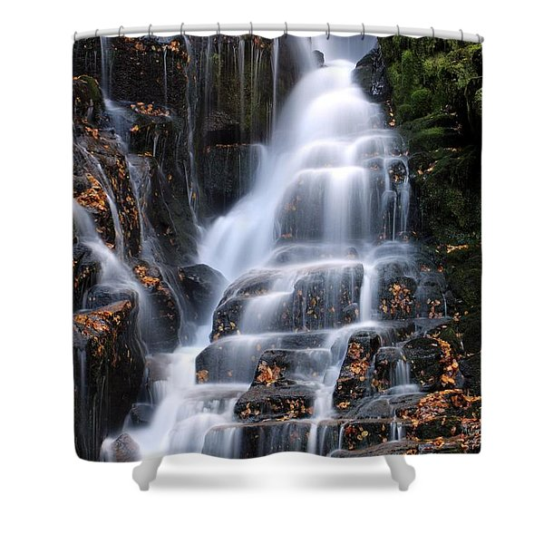 The Magic Of Waterfalls Shower Curtain