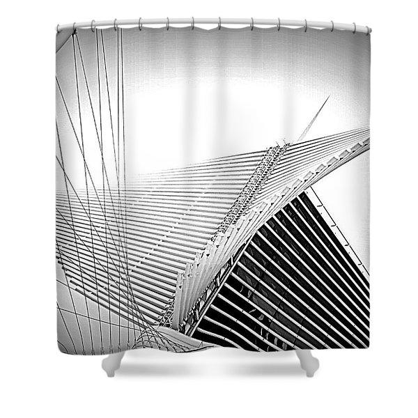 The Mam Milwaukee Art Museum Shower Curtain