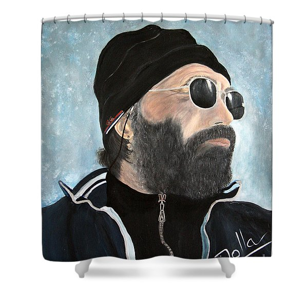 The Man Who Stole My Heart.. Shower Curtain