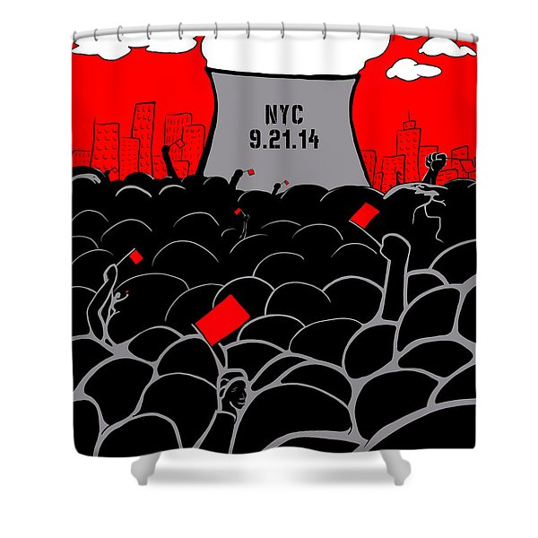 The March Shower Curtain