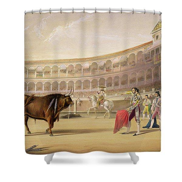 The Matador Shower Curtain