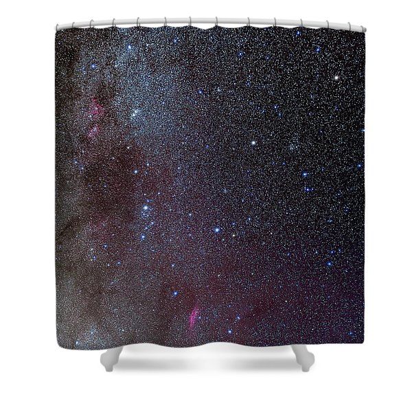 The Milky Way, From Andromeda Shower Curtain