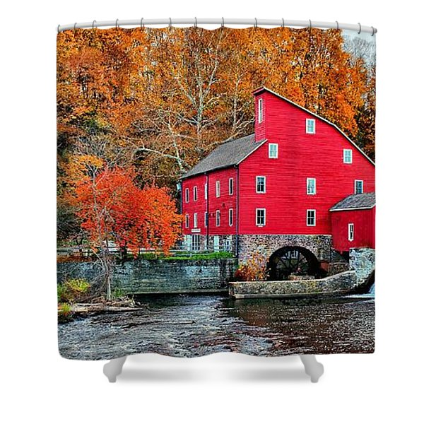 The Mill In Clinton Shower Curtain