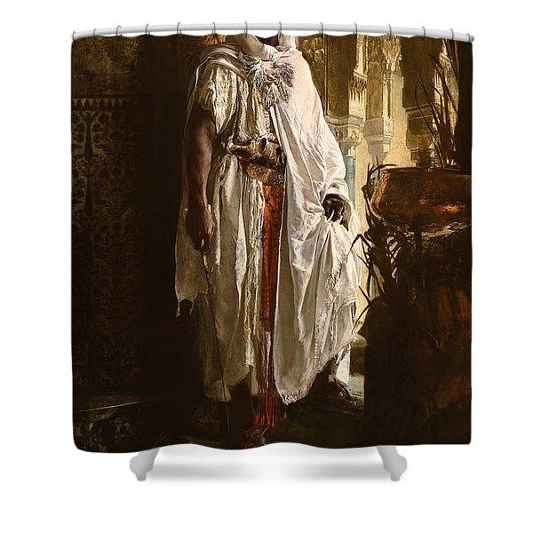 The Moorish Chief Shower Curtain