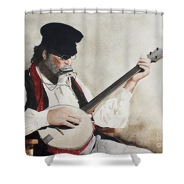 The Music Man Shower Curtain