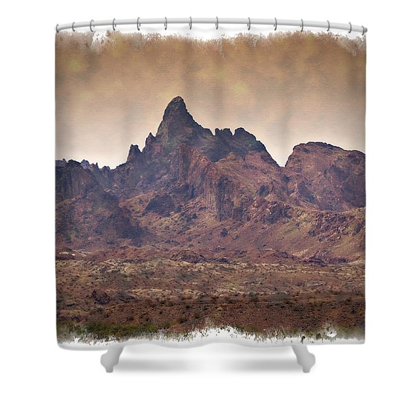The Needles - Impressions Shower Curtain