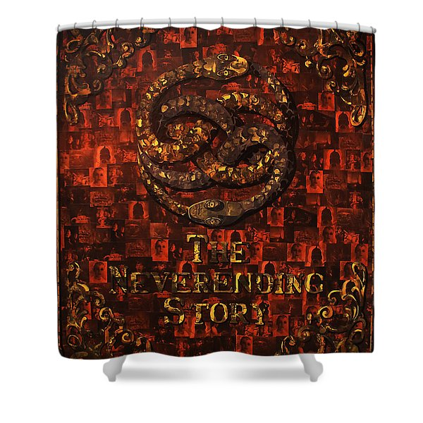 The Neverending Story Shower Curtain