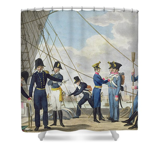 The New Imperial Royal Austrian Navy Shower Curtain