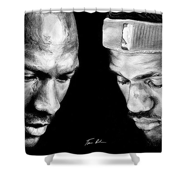 The Next One Shower Curtain
