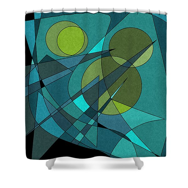 The Oboes Shower Curtain
