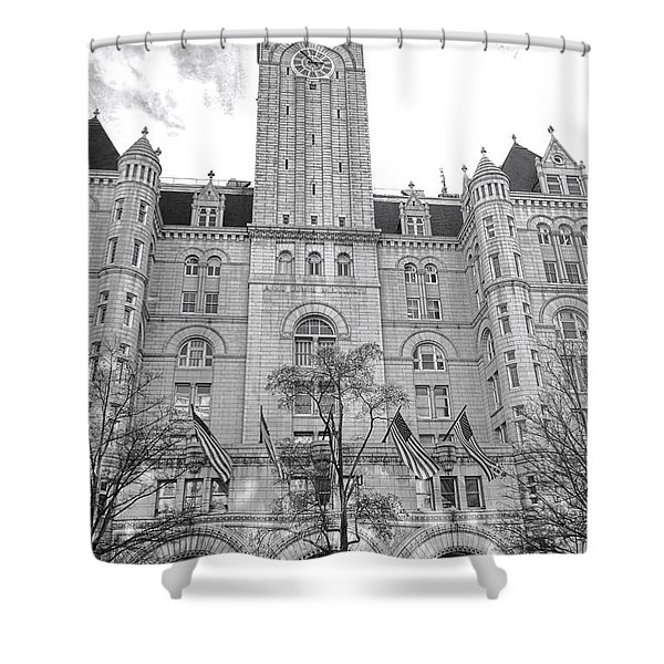 The Old Post Office  Shower Curtain